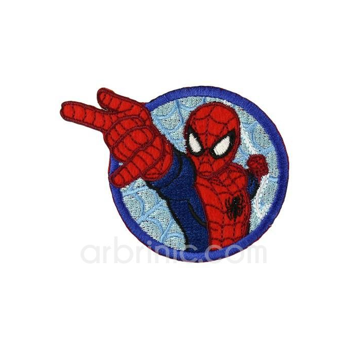 Ecusson broderie Spiderman 08