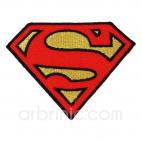 Ecusson broderie Superman