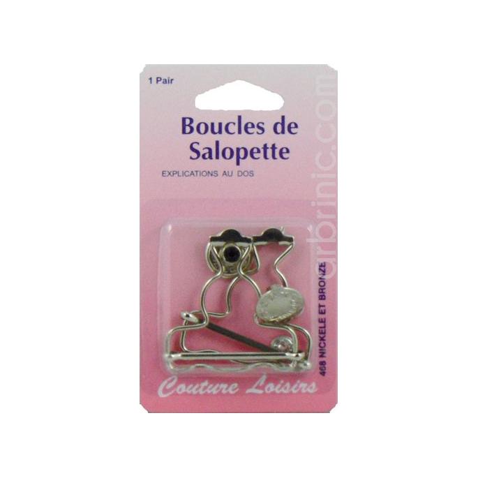 Boucles pour salopette 40mm Métal (x2)