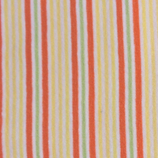 PUL coton -rayure jaune orange (50x55)