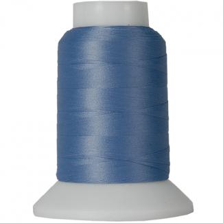 Cône Fil Mousse Wooly Nylon Bleu Denim (1000m)
