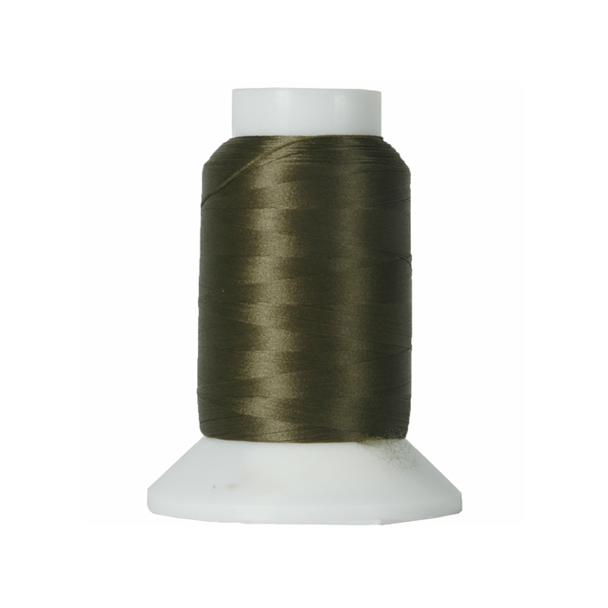 Wooly Nylon Thread Olive (1000m)