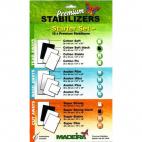 Premium Stabilizer Starter Set Madeira (12 sheets)
