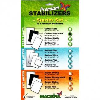 Kit Démarrage Stabilisateurs Premium Madeira (12 feuilles)