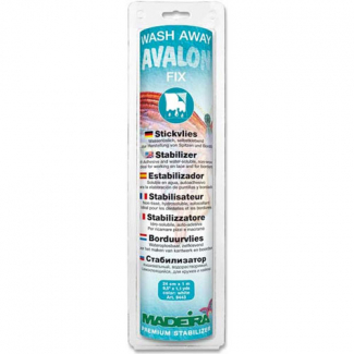 Wash Away Stabilizer Madeira Avalon Fix (1m Roll)