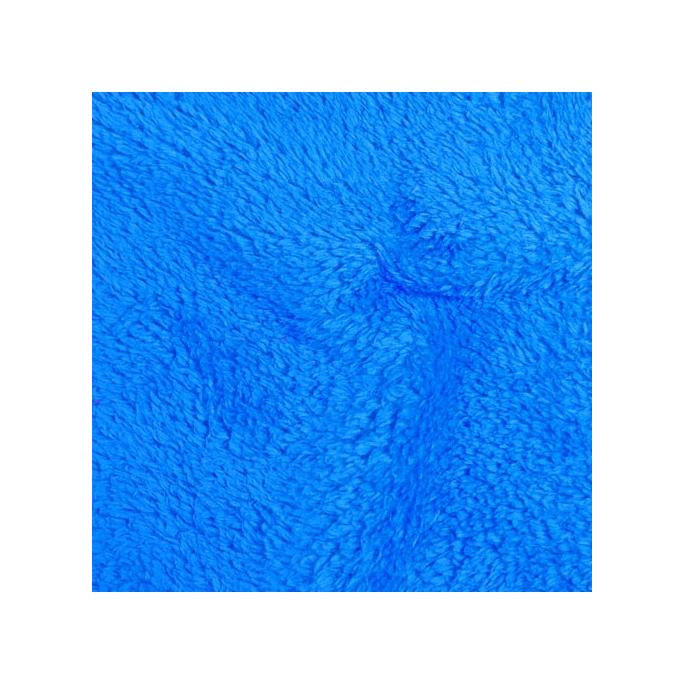 Teddy Oekotex Bleu saphir (au mètre)
