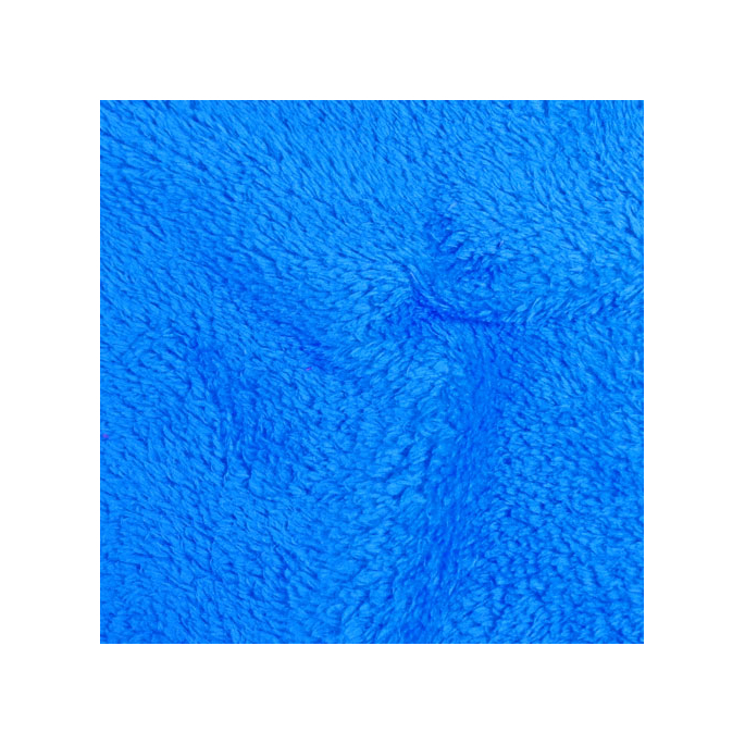 Teddy Oekotex - Saphir blue - width 160cm (per meter)