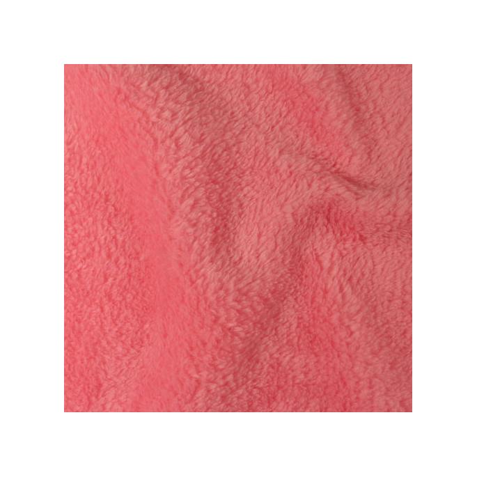 Teddy Oekotex - Baby pink - width 160cm (per meter)