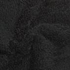 Teddy Oekotex Noir (au mètre)