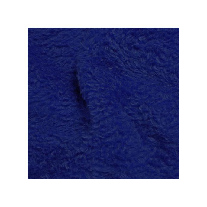 Teddy Oekotex - dark blue- width 160cm (per meter)
