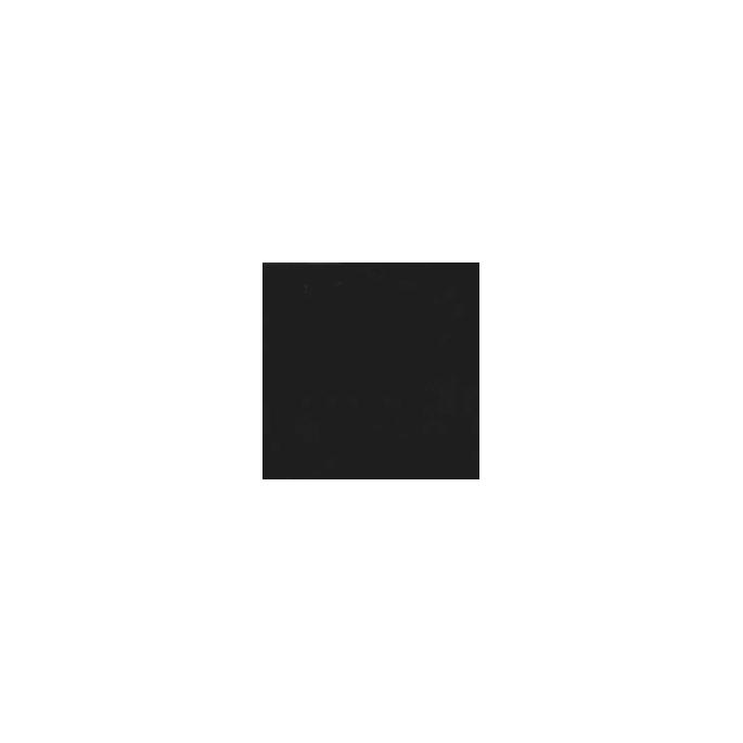 Organic cotton interlock - Black (by meter)