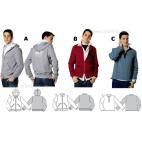 Burda Young 7734 Patron Veste & T-shirt