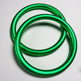 Anneaux de portage Vert Pomme Taille S (1 paire)