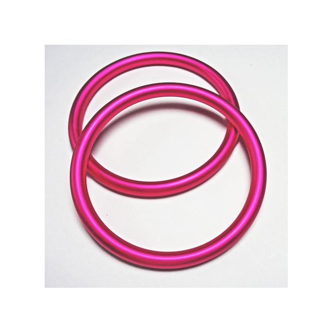 Sling Rings Fushia Size M (1 pair)