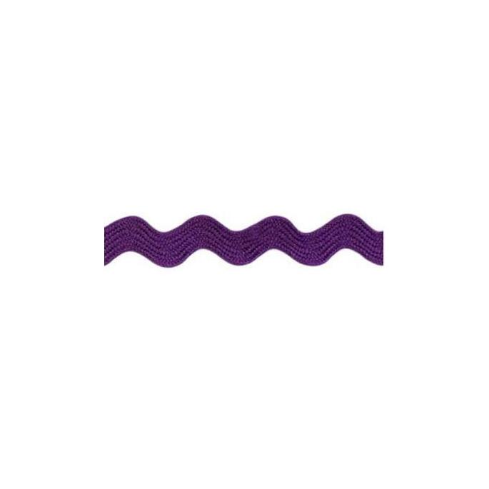 Ric rac 6mm Purple (50m roll)