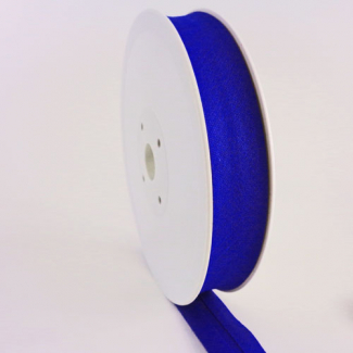 Single Fold Bias Binding 20mm Royal blue (25m roll)