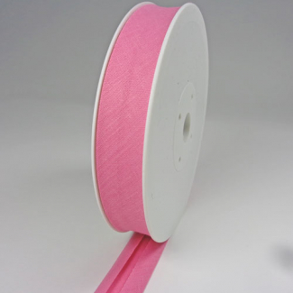 Single Fold Bias Binding 20mm Bubblegum (25m roll)
