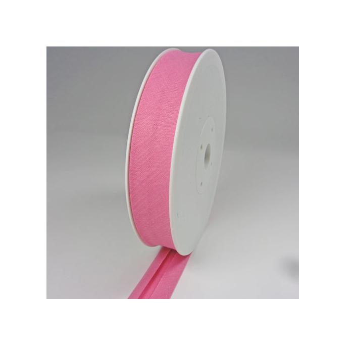 Single Fold Bias Binding 20mm Bubblegum (25m roll)