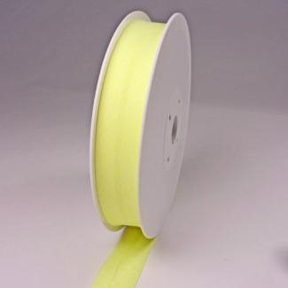 Biais 20mm Jaune vanille (bobine 25m)