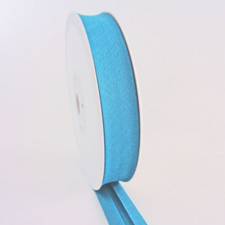 Single Fold Bias Binding 20mm Turquoise (25m roll)
