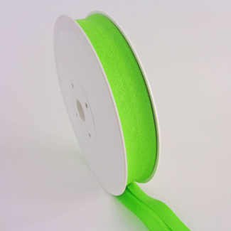Single Fold Bias Binding 20mm Green Apple (25m roll)