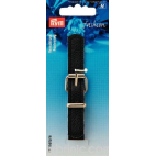 Leather imitation Strap Buckle Clasp Black