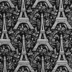 Coton - Paris Tour Eiffel - Michael Miller par 10cm
