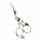 Stork Embroidery scissors White 9cm