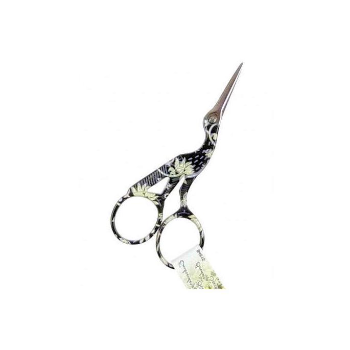 Ciseaux broderie Cigogne Noir 9cm