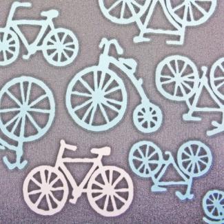 PUL poly retro bike width 140cm (per 10cm)