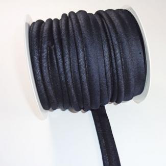 Passepoil 20mm Noir (Bobine 25m)