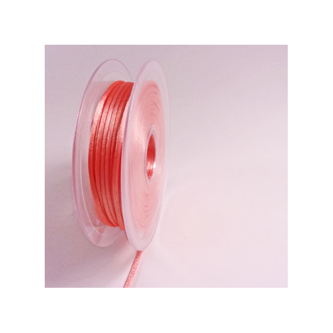 Rat tail cord 3mm Peach (25m bobin)