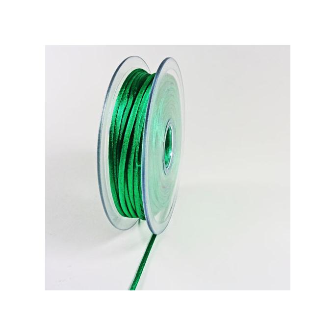 Rat tail cord 3mm Emerald Green (25m bobin)