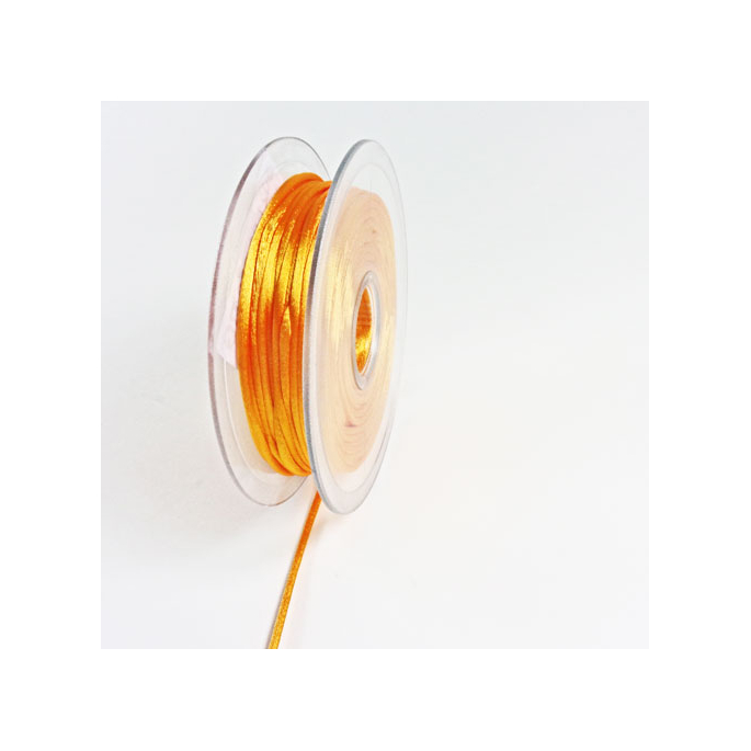 Queue de rat 3mm Orange (bobine 25m)