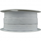 Buttonhole Elastic White 20mm (25m roll)