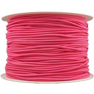 Thick Round Cord Elastic Pink (100m bobin)