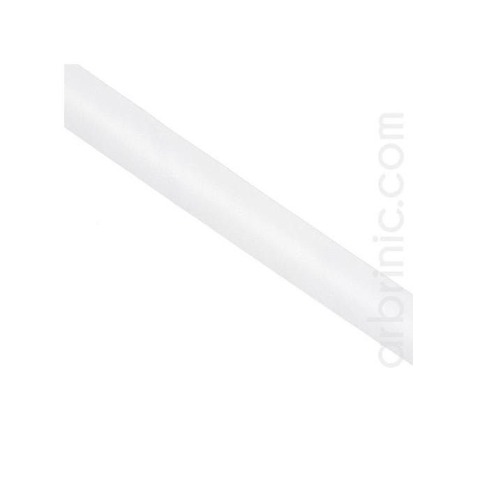 Satin Bias Binding 20mm White (25m roll)