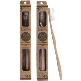Brosse à dents en bambou (taille Adulte x1) Brossez Ecologique !