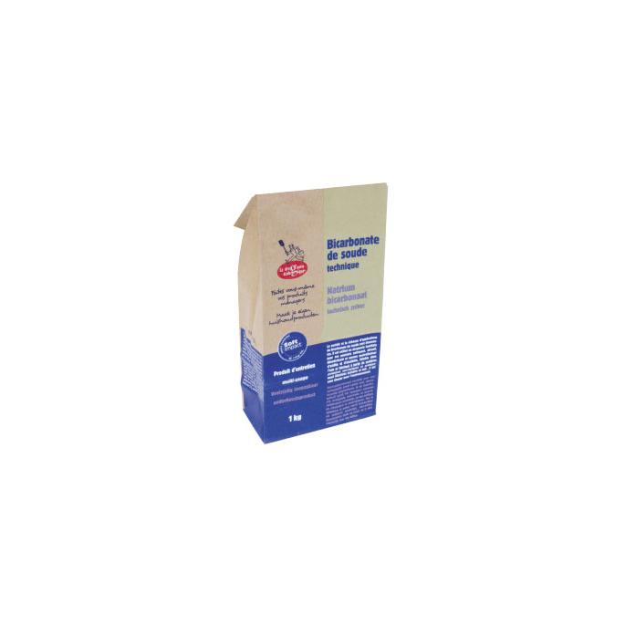 Bicarbonate de soude technique (sac 1kg)