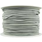 Thick Round Cord Elastic Grey (100m bobin)