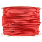 Thick Round Cord Elastic Red (100m bobin)