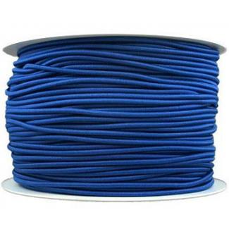 Thick Round Cord Elastic Royal Blue (100m bobin)