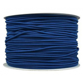 Thick Round Cord Elastic Navy Blue (by meter)