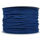 Thick Round Cord Elastic Navy Blue (100m bobin)