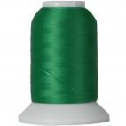 Cône Fil Mousse Wooly Nylon Vert Trèfle (1000m)