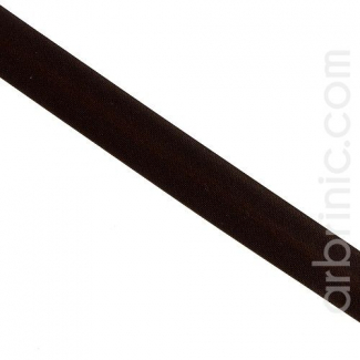 Satin Bias Binding 20mm Dark Chocolate (25m roll)
