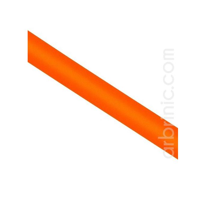 Biais Satin 20mm Orange (rouleau 25m)