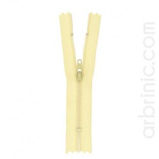 Fermeture fine nylon NS 10cm Coquille