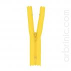 Nylon finished zipper 10cm Buttercup Yellow
