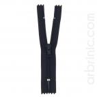 Fermeture fine nylon NS 10cm Bleu Nuit